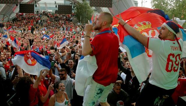 ملخص مباراة سويسرا وصربيا