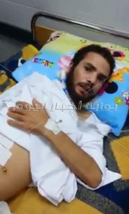 سالم ضحية الإهمال الطبي فى مستشفى دمنهور