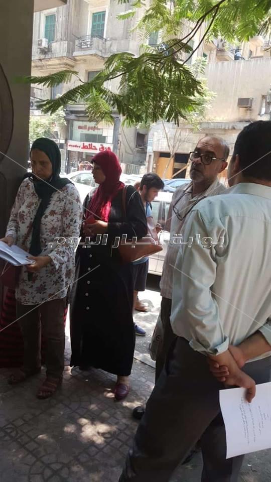 """وقفة احتجاجية لطلاب """"stem"""" امام مجلس الوزراء"""