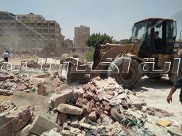 ازالة التعديات بمدينة نصر