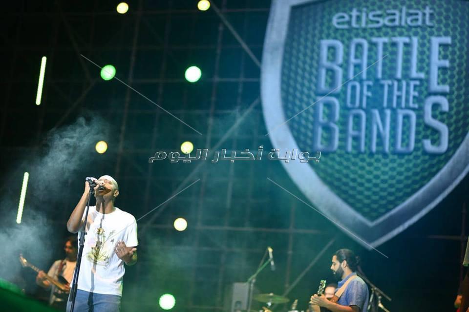 «بلاك تيما» تشعل الحفل النهائي لـ«Etisalat Of The Bands»