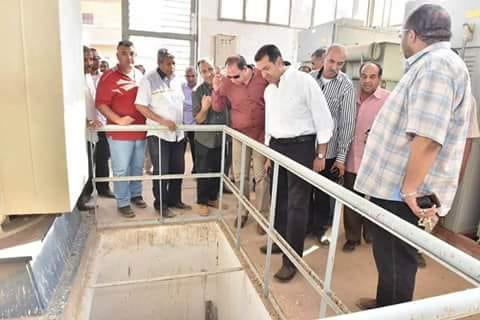 محطة مياه شلش تنهى معاناة اهالى ديروط وتخدم المدينة و75قرية