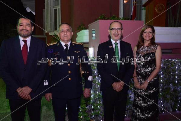 وزير الآثار بصحبة السفراء في الاحتفال بالعيد الوطني للمكسيك