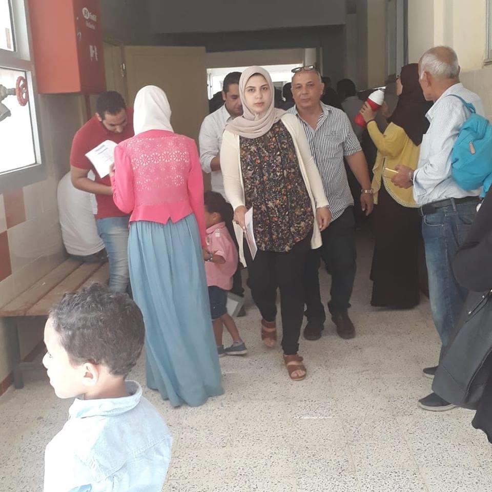 اليوم الأول للمقابلات الشخصية بطلاب المدارس الدولية المصرية