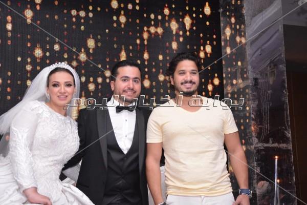 """رامي صبري ومصطفى حجاج يشعلان زفاف """"محمود وصفاء"""""""