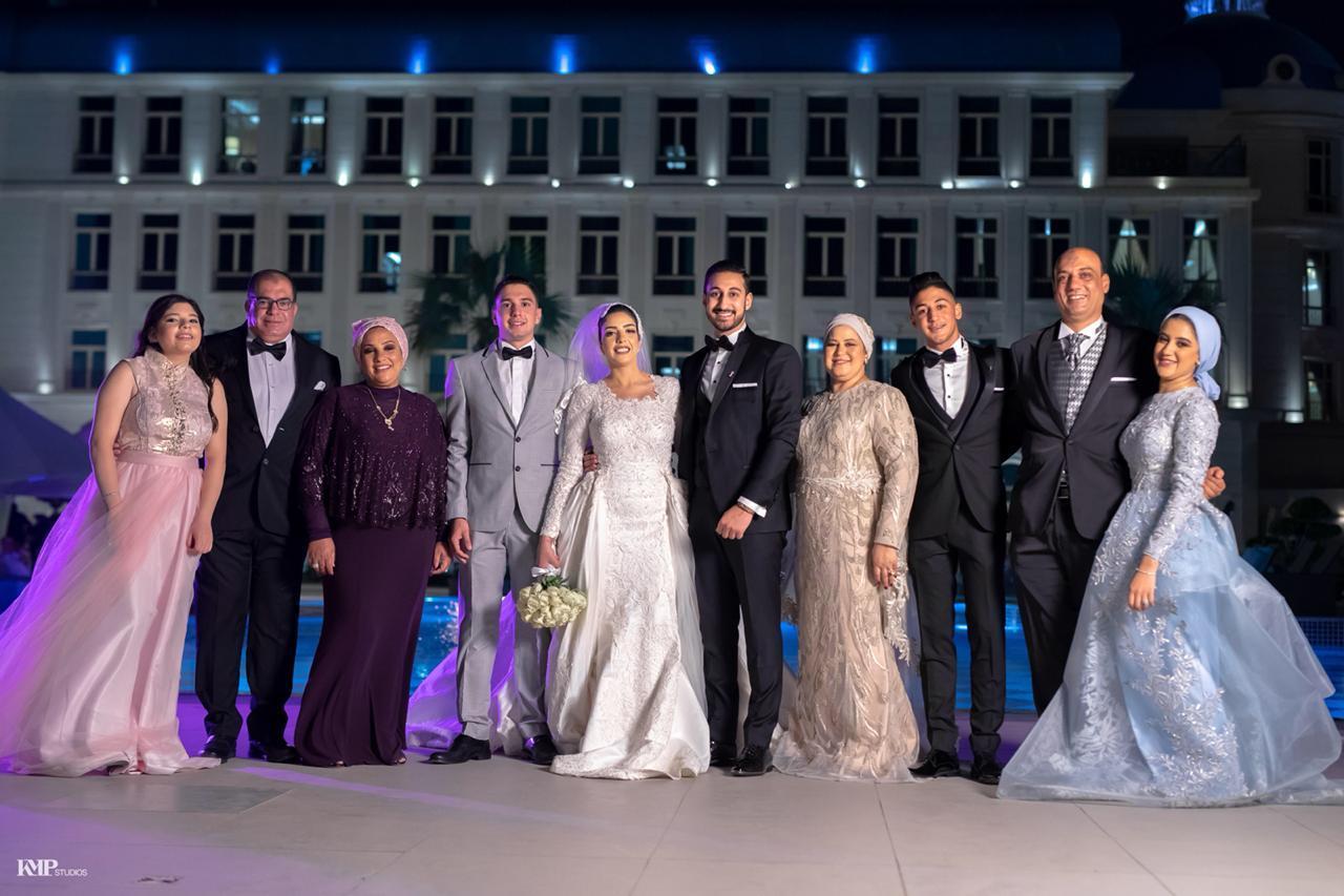 زفاف «محمد وإيمان» بتوقيع دينا