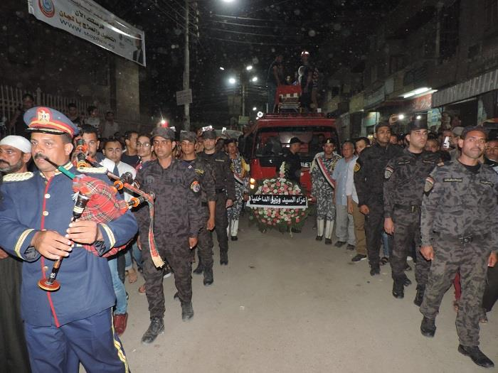 جنازة الشهيد المجند عاصم أحمد