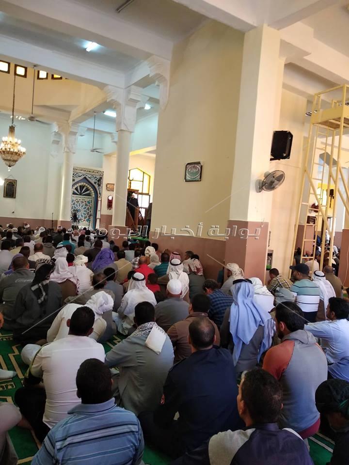 وزير الأوقاف يلقي خطبة الجمعة بمسجد وادي الراحة بسانت كاترين