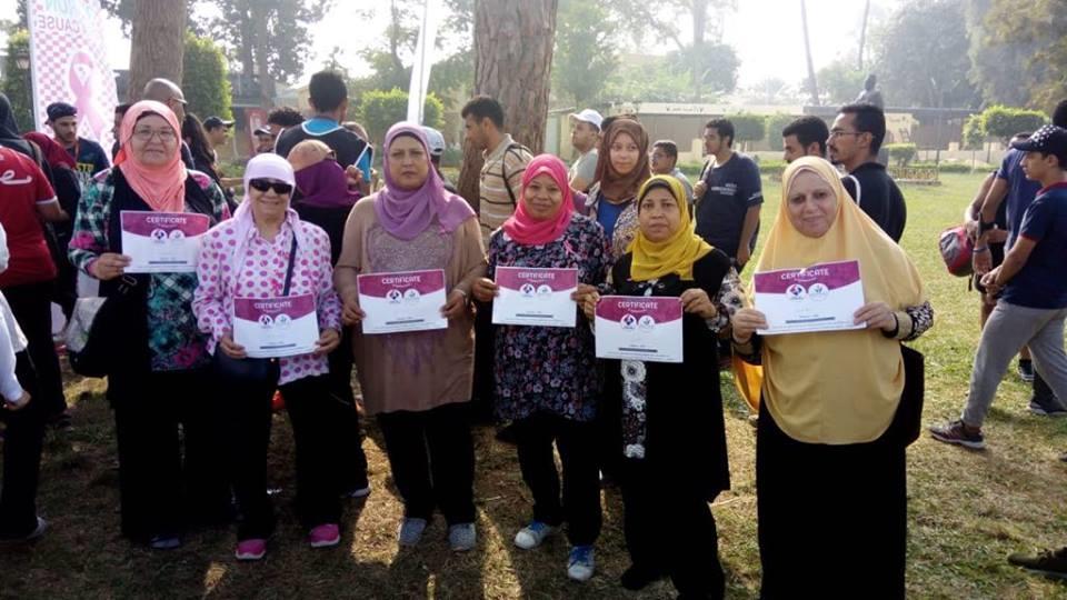 الجمعية المصرية تحتفل بالناجيات من سرطان الثدى