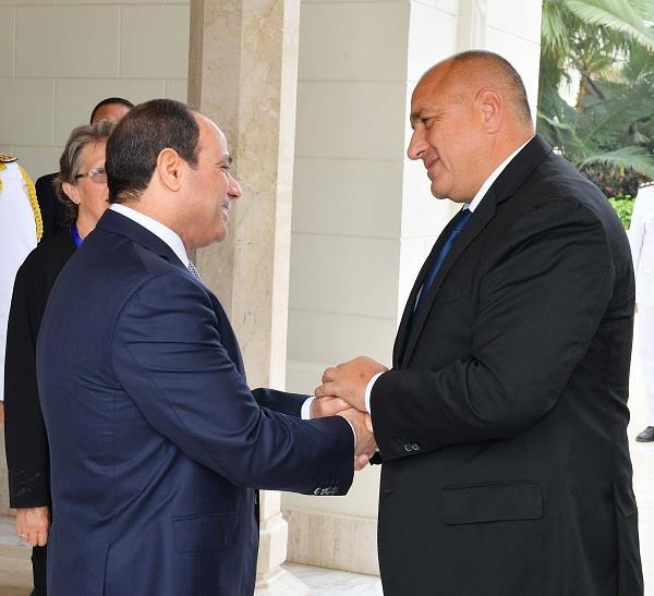 لقاء السيد الرئيس مع رئيس الوزراء البلغاري