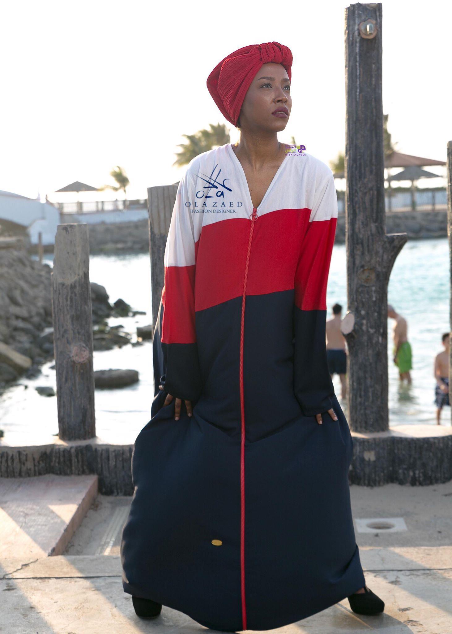 مصممة أزياء السعودية تقدم عبايات تساعد على قيادة السيارة والرياضة