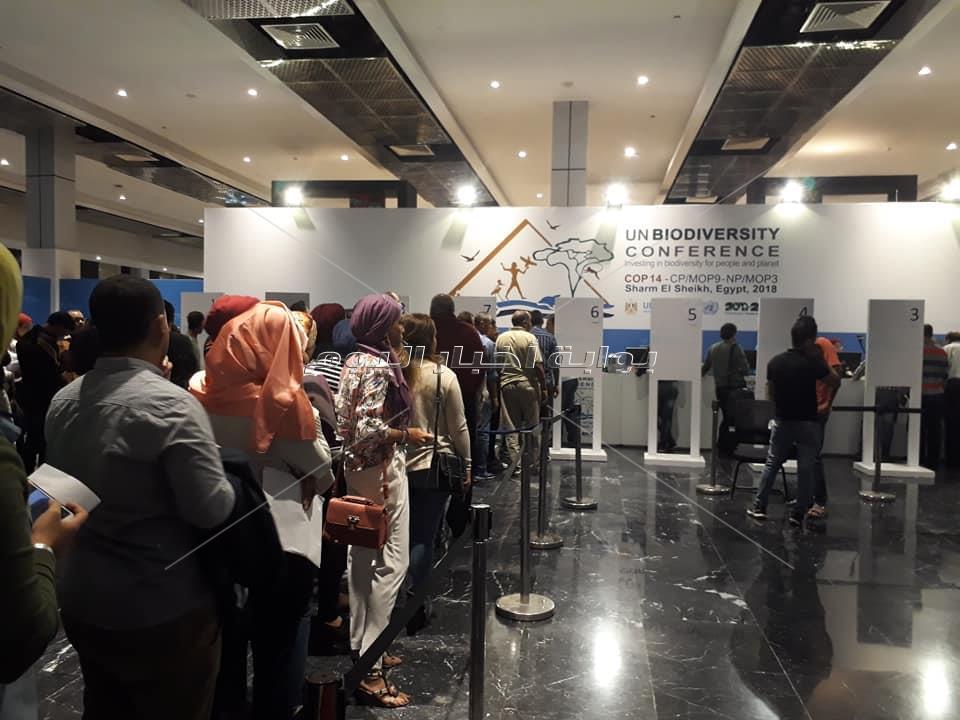 قاعة مؤتمرات شرم الشيخ تستعد لإستقبال مؤتمر التنوع البيولوجي غدا