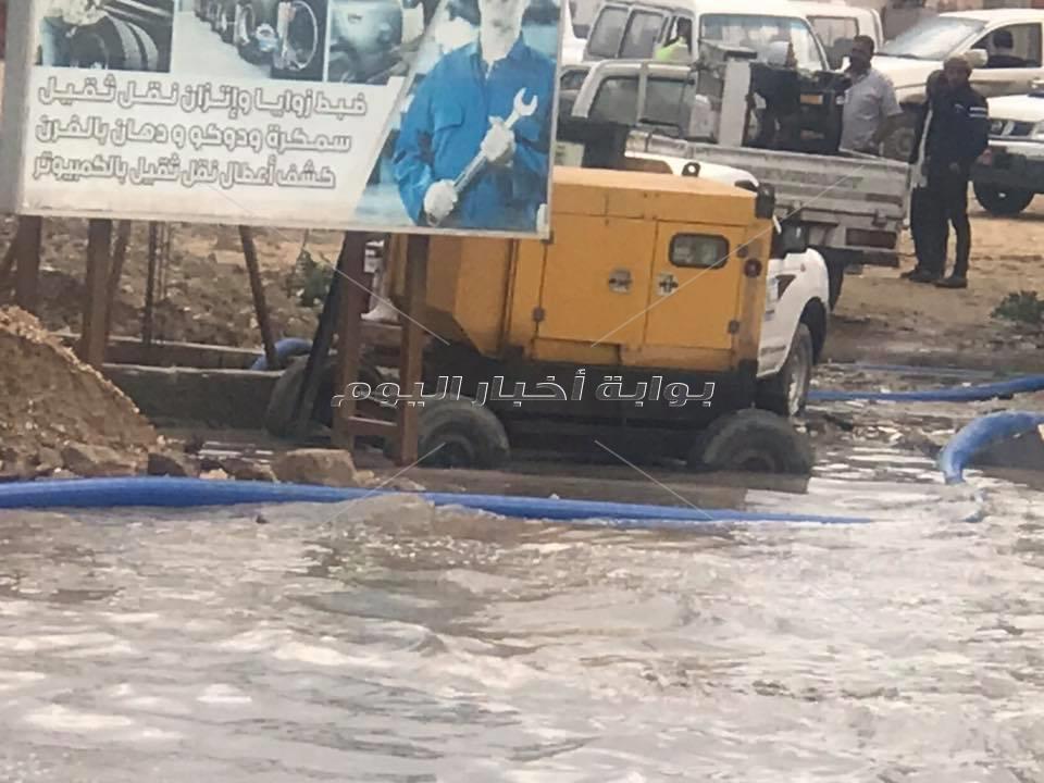 الإسكندرية تحت رحمة أمطار