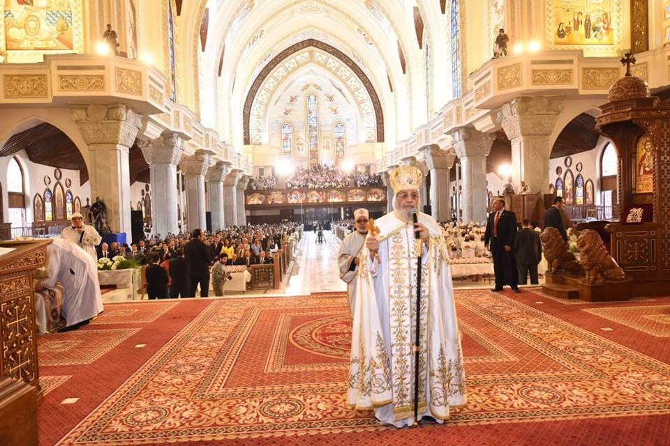 قداس تدشين الكاتدرائية المرقسية بالعباسية