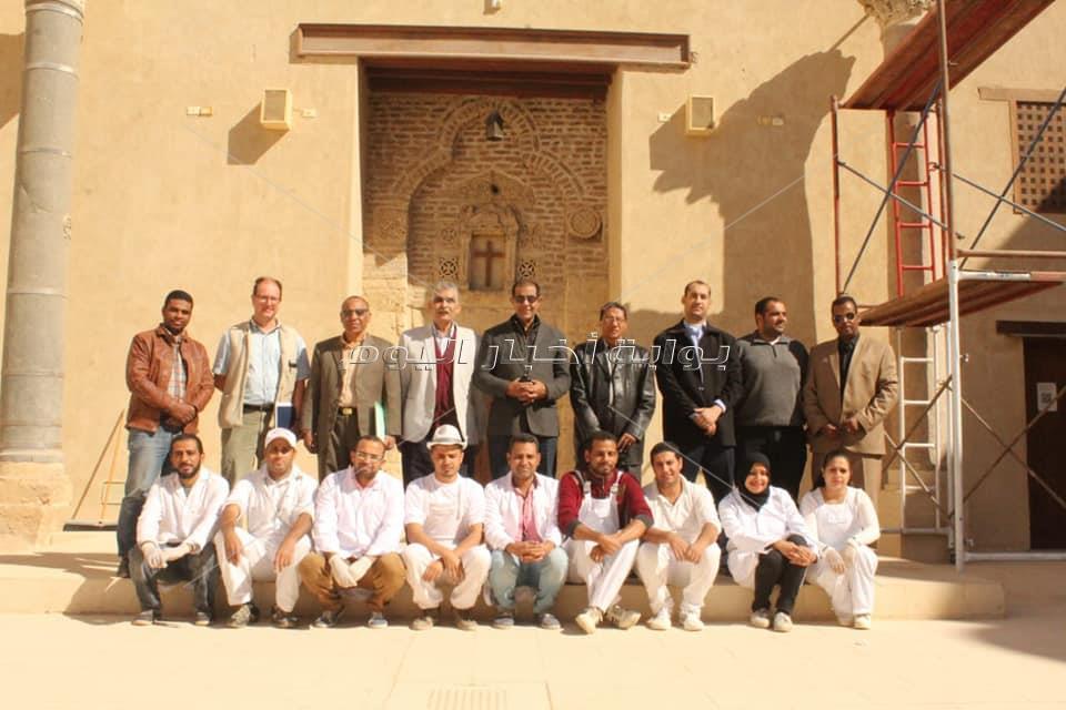 مشروع ترميم الدير الأحمر بسوهاج