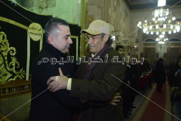 نجوم الفن في عزاء سعيد عبد الغني