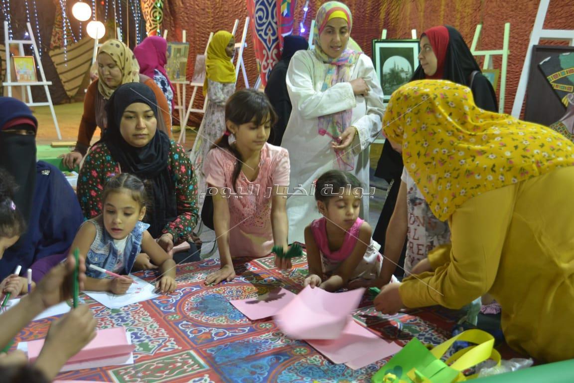 أنشطة متنوعة بمعرض فيصل للكتاب