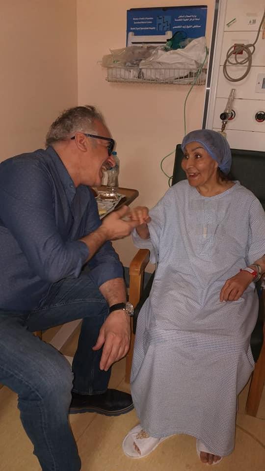 الصور الأولى لـ«سهير البابلي»  داخل المستشفى