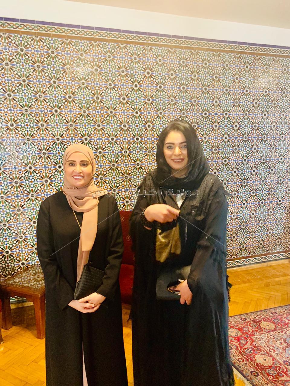 """هند جاد رئيسة مؤسسة بيت العرب تشهد  إطلاق """"جائزة التميز الحكومي العربي"""""""