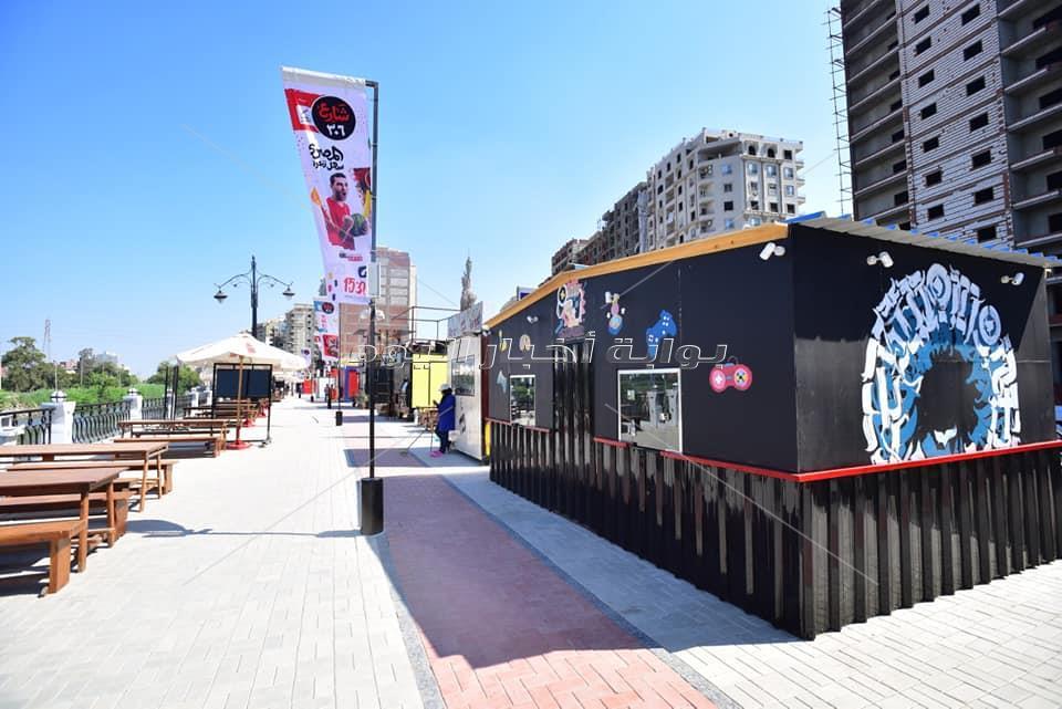 شارع 306 بطنطا قبل افتتاحه رسميا