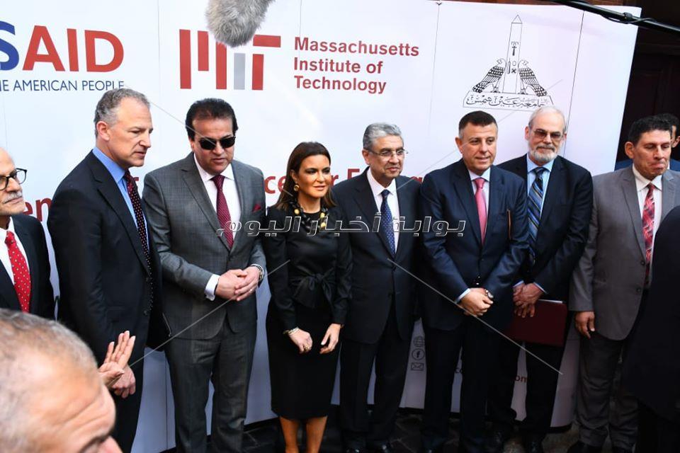 مصر والولايات المتحدة الأمريكية يفتتحان مركز التميز في الطاقة بجامعة عين شمس