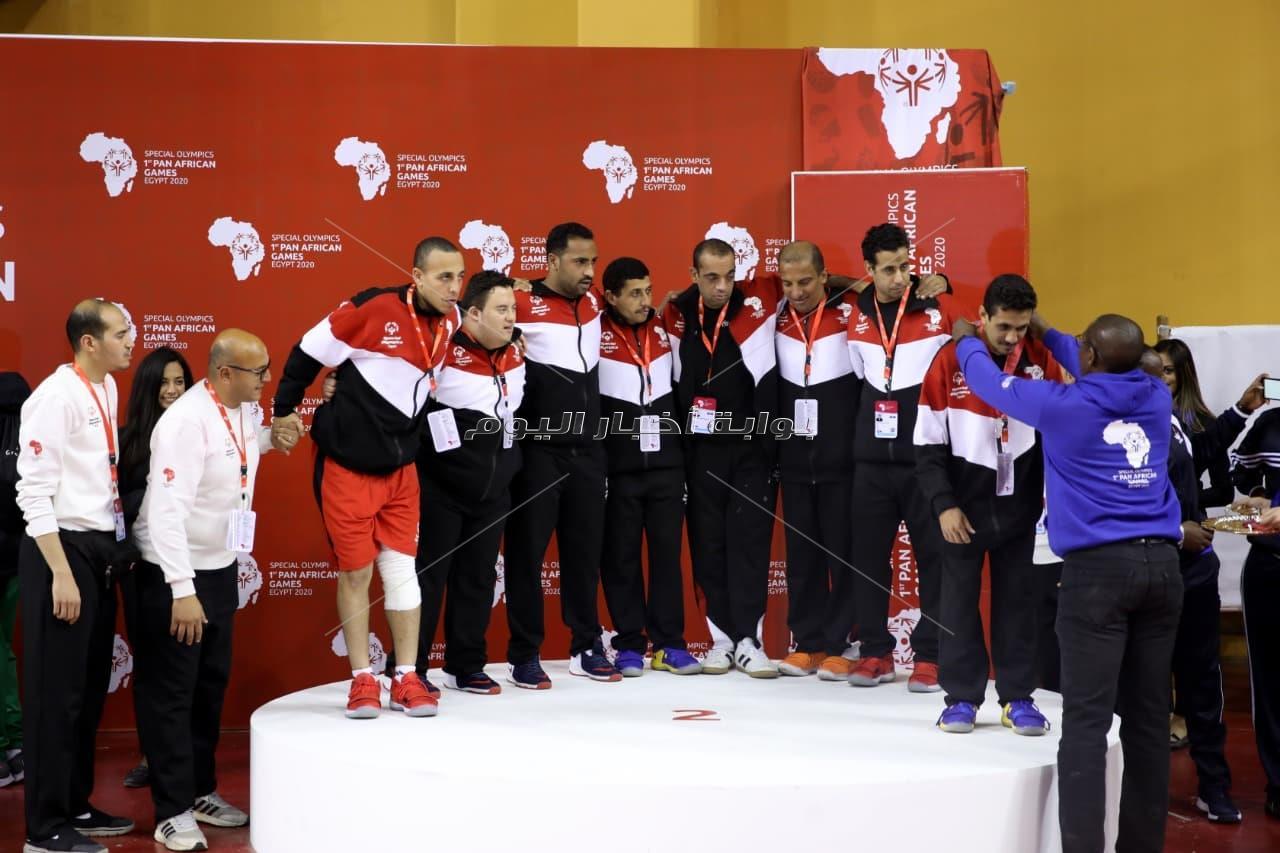 حصاد المنتخبات المصرية في أول ألعاب أفريقية للأولمبياد الخاص