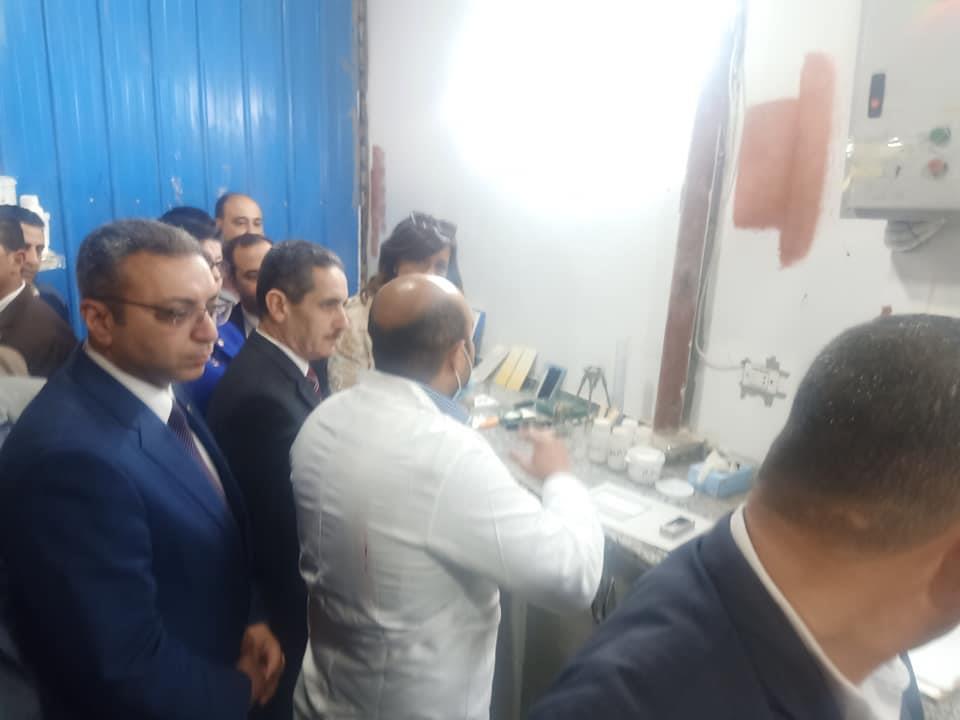 وزيرة الهجرة تصل قرية الفرستق بالغربية لتوعية بمخاطر الهجرة غير الشرعية