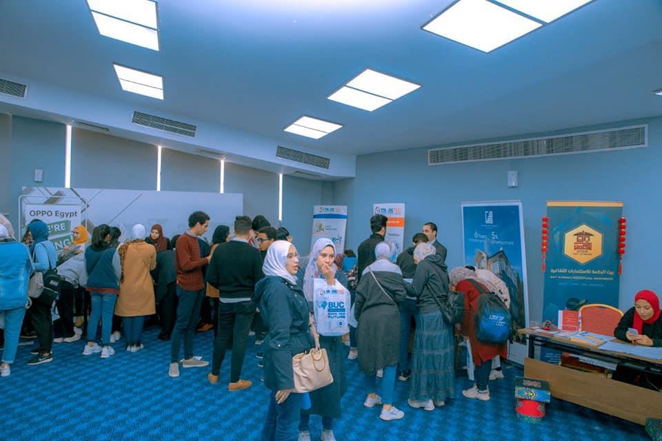جامعة بدر بالقاهرة تختتم الملتقي التوظيفي الاول لكلية اللغات والترجمه