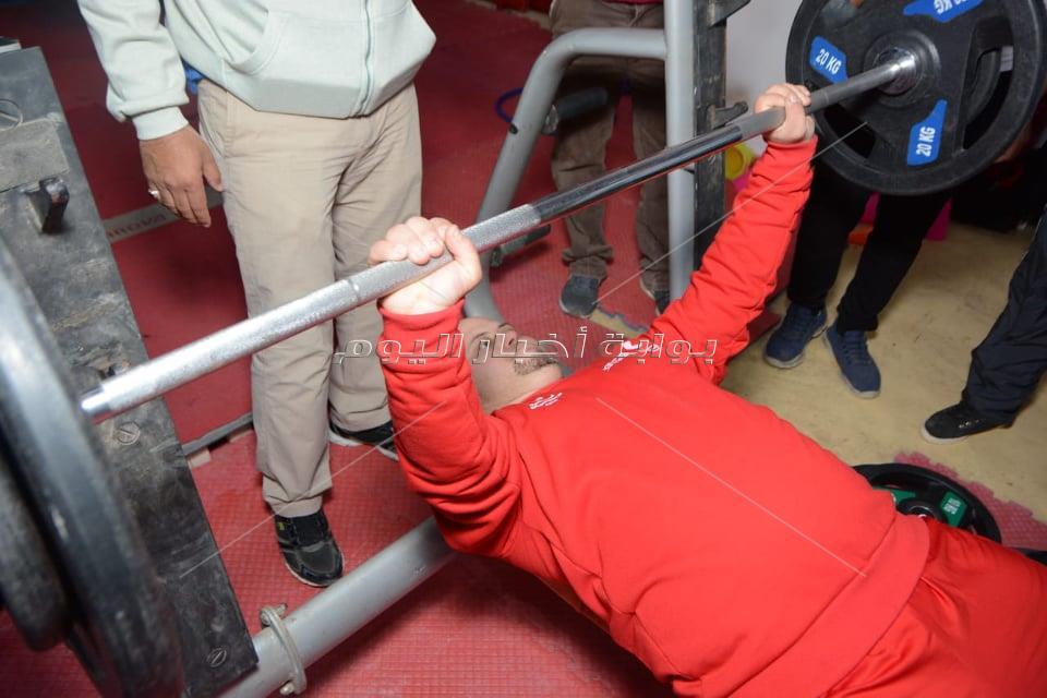 انطلاق المسابقة الوطنية للاولمبياد الخاص المصري في رفع الأثقال