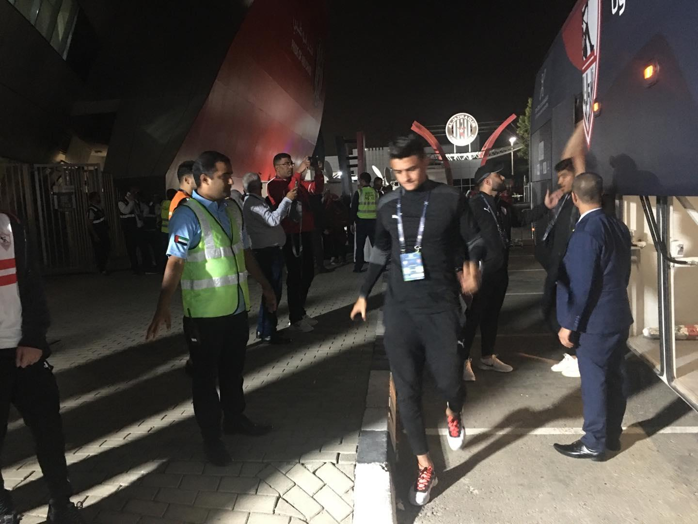 السوبر المصري| حافلة الزمالك ستاد محمد بن زايد
