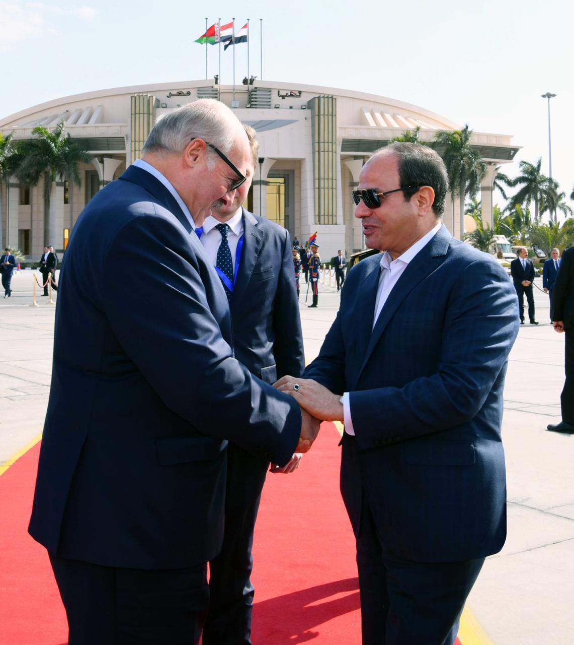 جولة الرئيس  السيسي في العاصمة الادارية