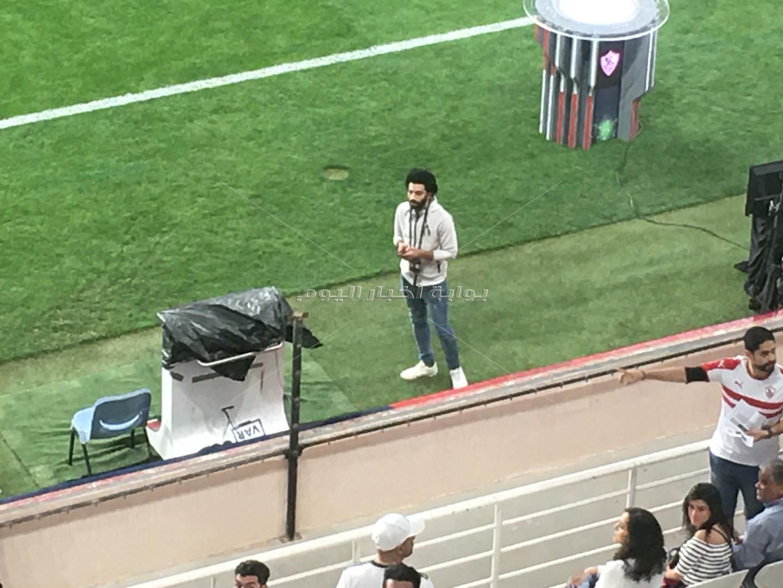 محمد صلاح يثير الجدل في مباراة الأهلي والزمالك