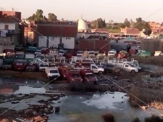 أهالي «بندر أبو المطامير» يطالبون بنقل سوق المواشي