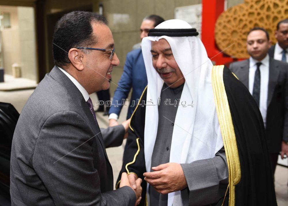 رئيس الوزراء يشارك فى احتفال السفارة الكويتية بمناسبة الذكرى 59 للعيدالوطني