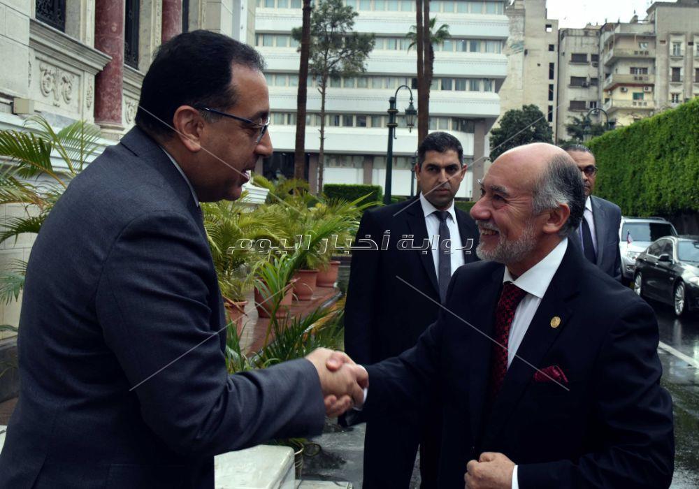 رئيس الوزراء يستقبل رئيس برلمان شيلى
