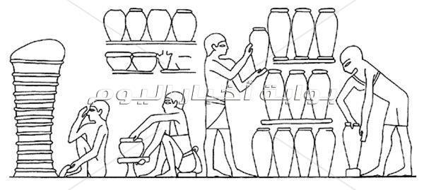 دراسة أثرية: إبداعات المصرى القديم فى الحرف اليدوية
