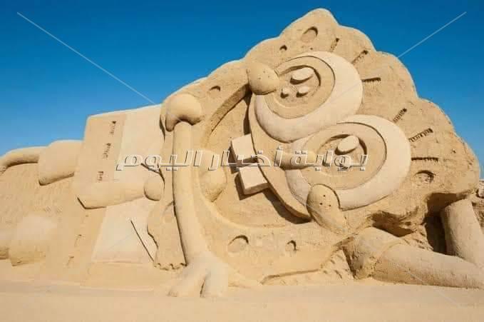 مدينة الغردقة ??متحف الرمال