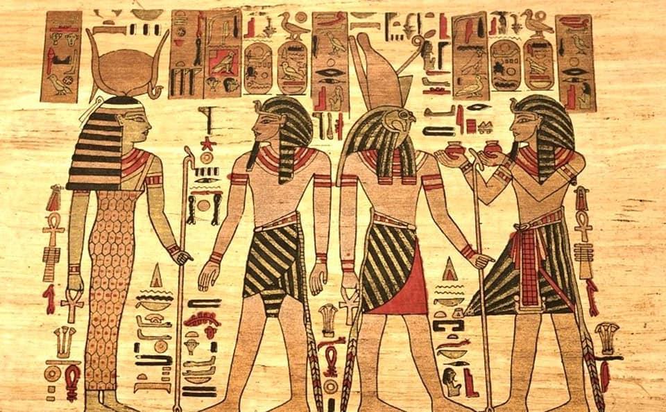 زي الرجال والنساء في مصر القديمة