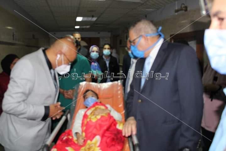 والد الطفلة المصابة ببني سويف: أرسلت استغاثة للسيسي ولم أصدق الإستجابة
