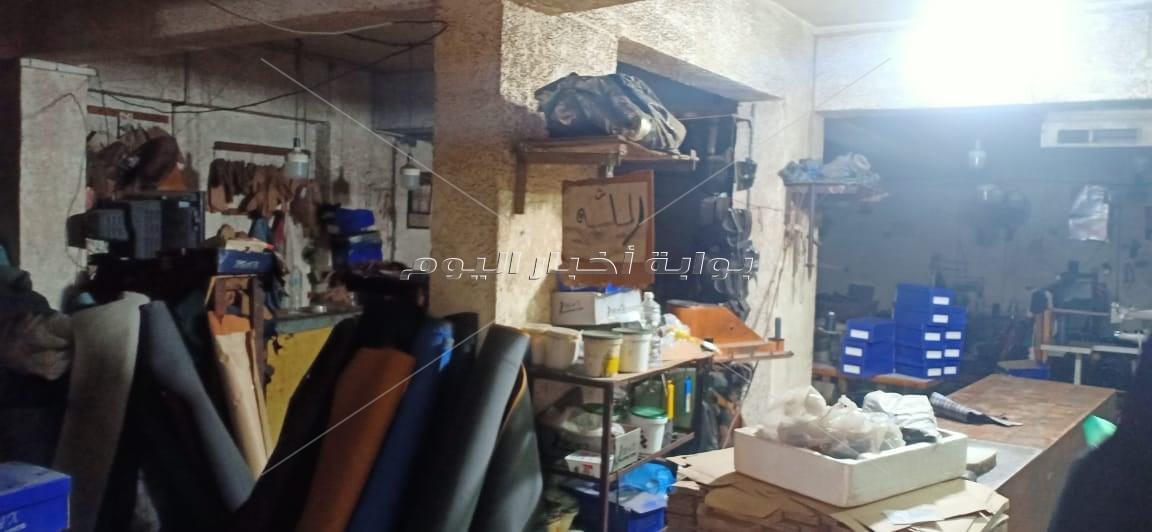 إغلاق 6 منشآت صناعية أسفل العقارات السكنية في الإسكندرية