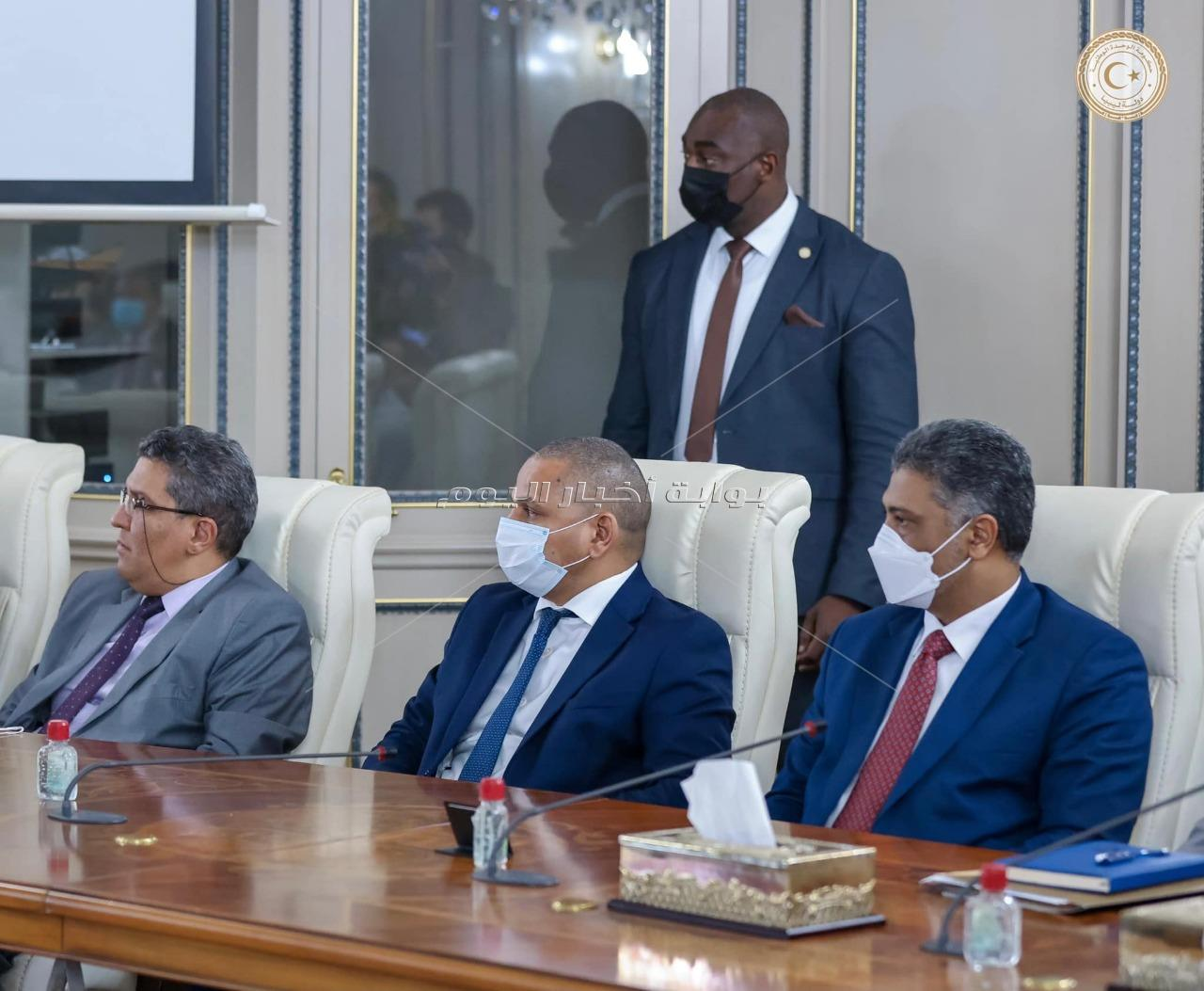 زيارة رئيس الوزراء إلى ليبيا