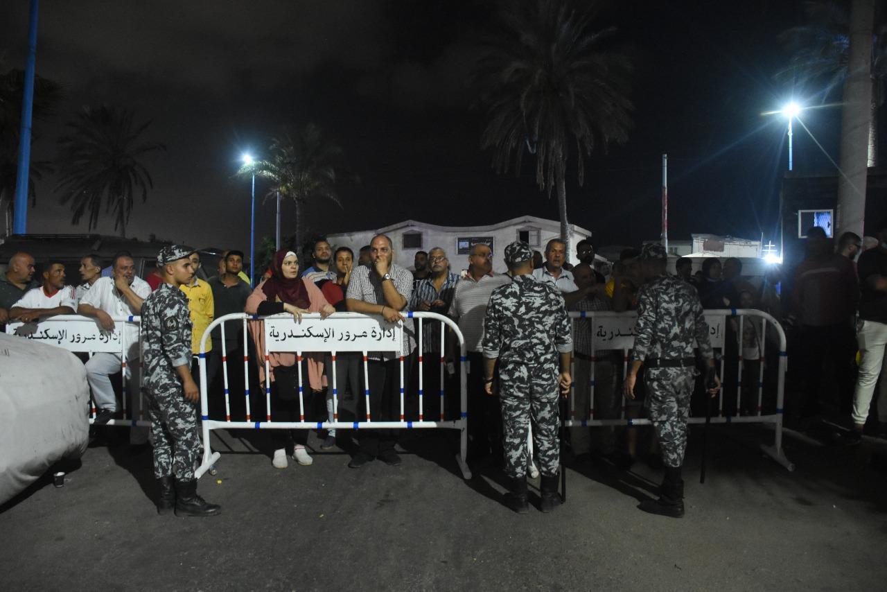 قرار بإزالة 10 أدوار من عقار الإسكندرية المائل