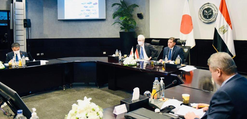 الرئيس التنفيذي لهيئة الاستثمار يستضيف الاجتماع الأول للجنة المصرية-اليابانية لترويج الاستثمار
