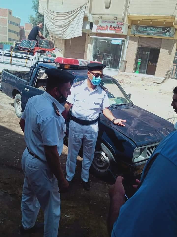 شرطة المرافق بمركز زفتي بمحافظة الغربية