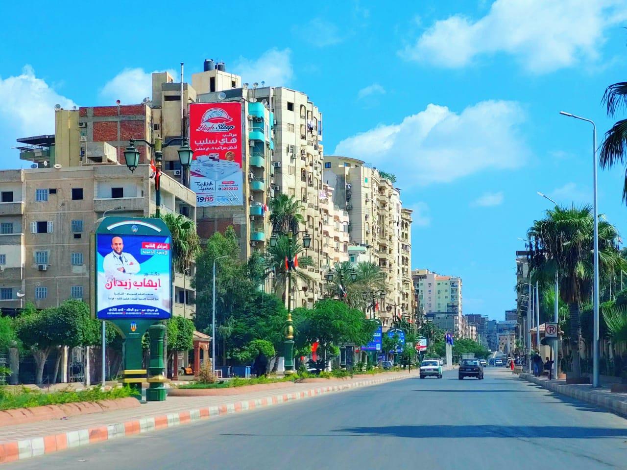 الانتهاء من تطوير شارع عبد السلام الشاذلي بدمنهور  بتكلفة 35 مليون جنية