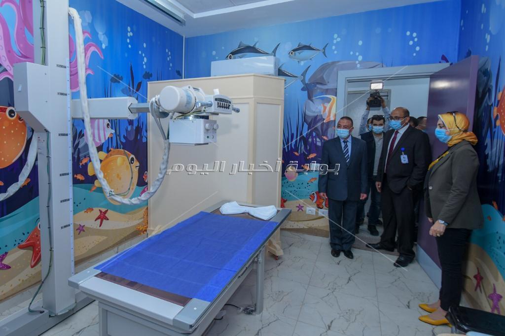 محافظ الإسكندرية يفتتح أول مستشفى متخصصة بالمجان لأطفال