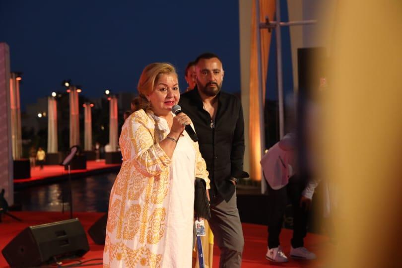 النجوم يشاركون في تكريم محمد الصغير بمهرجان الجونة