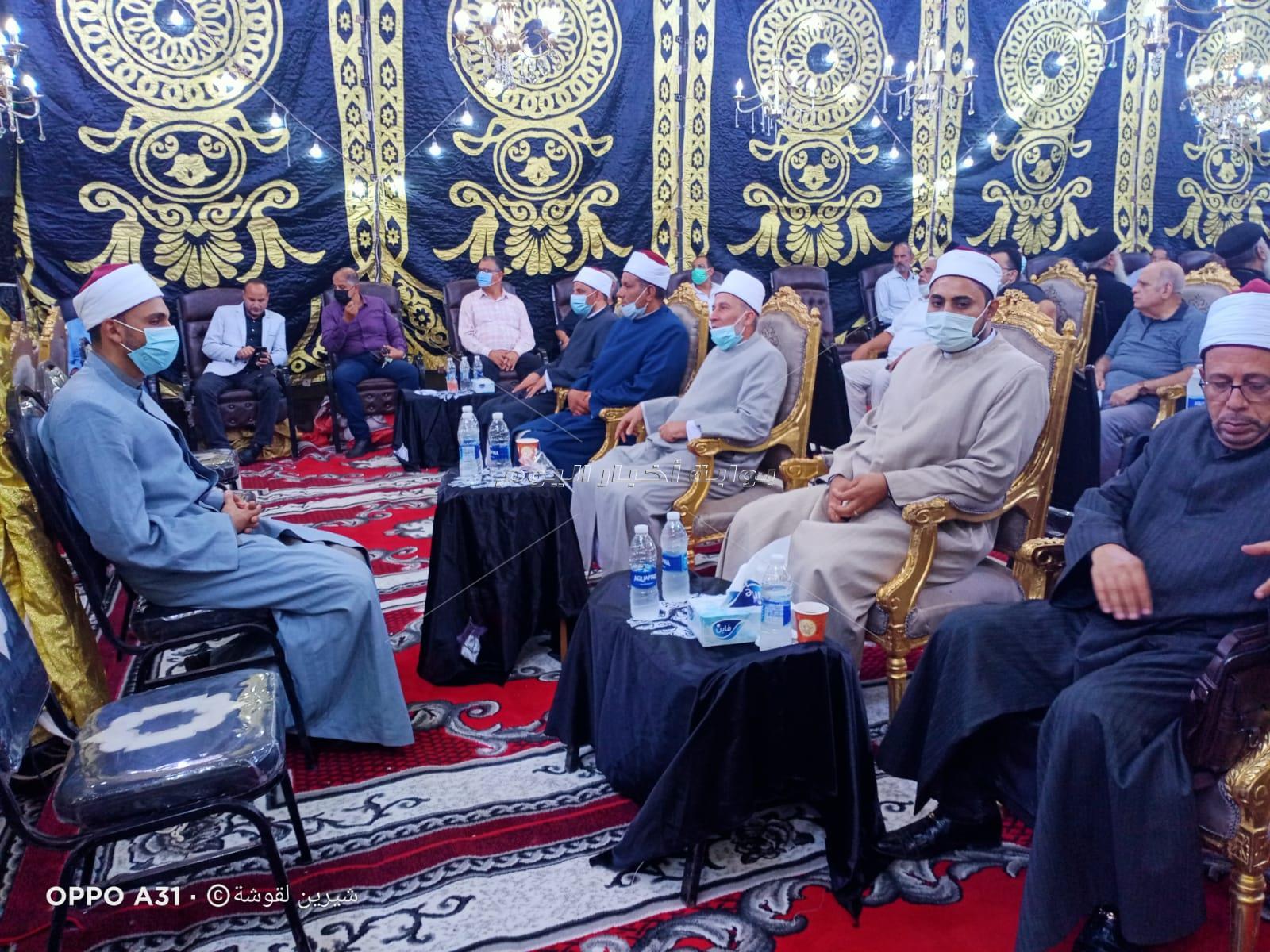 أهالي مدينة المحلة الكبرى والقيادات التنفيذية والشعبية