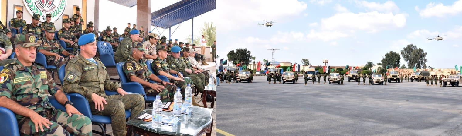 انطلاق فعاليات التدريب حماة الصداقة - 5بمشاركة قوات المظلات المصرية الروسية