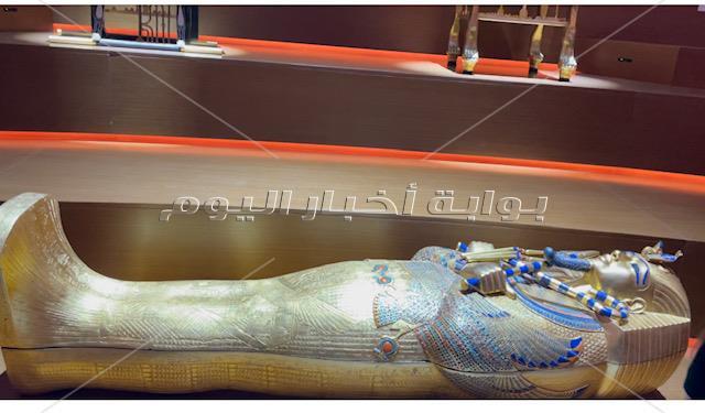العالم في إكسبو 2020 يتساءلون يوميًا عن عن موعد افتتاح المتحف المصري الكبير